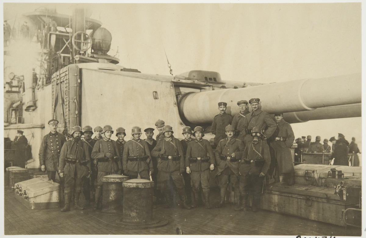 German soldiers from the Åland expeditionary force.
