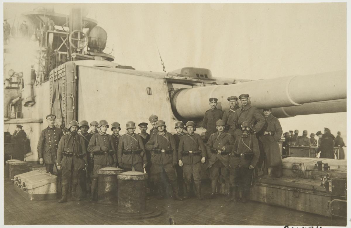 Soldater från den tyska Ålandsexpeditionen.