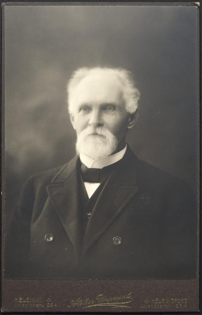 Medicinalrådet Lars Wilhelm Fagerlund.
