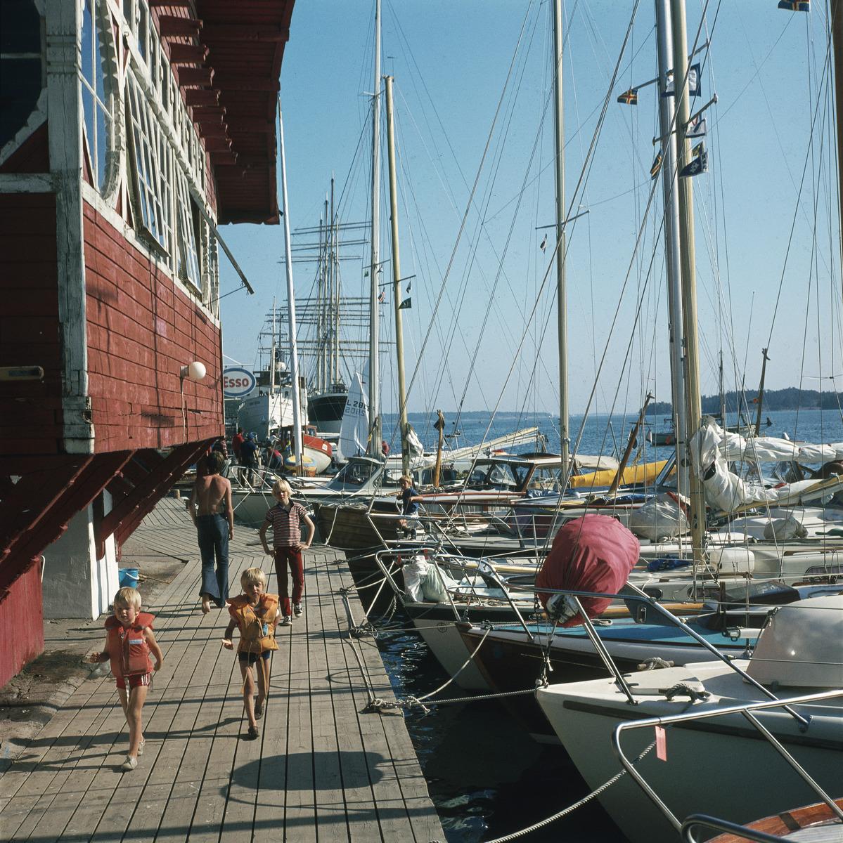 Boat harbor. Photo: Volker von Bonin. Finnish Heritage Agency.