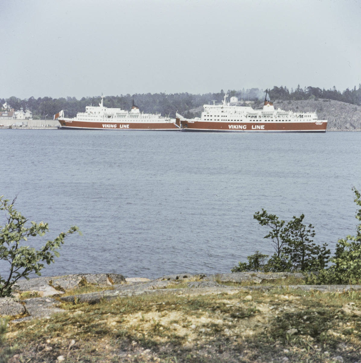 Passagerarfartyg ur Viking Lines.