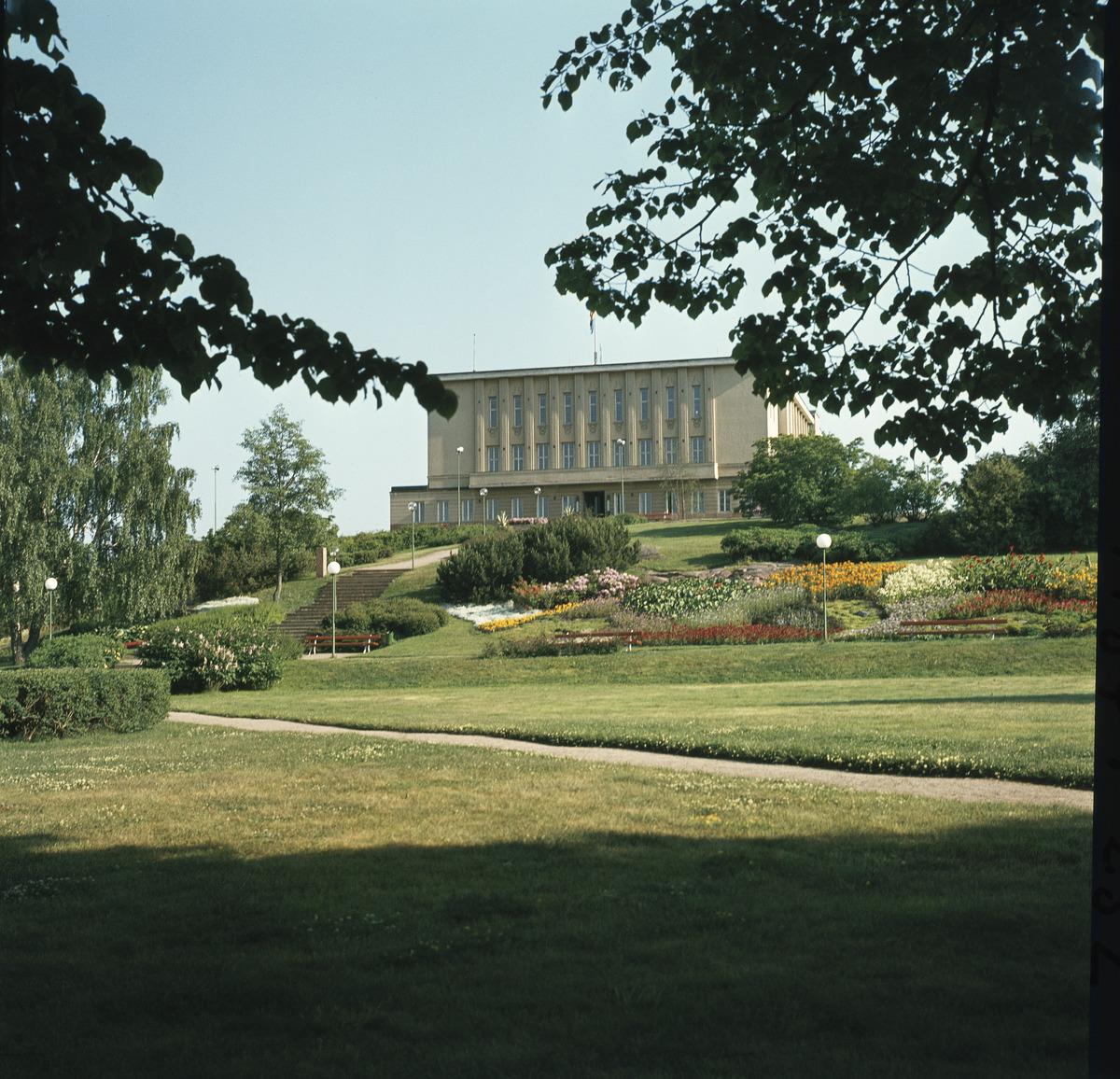 Maarianhaminan kaupungintalo. Kuva: Volker von Bonin. Museovirasto.