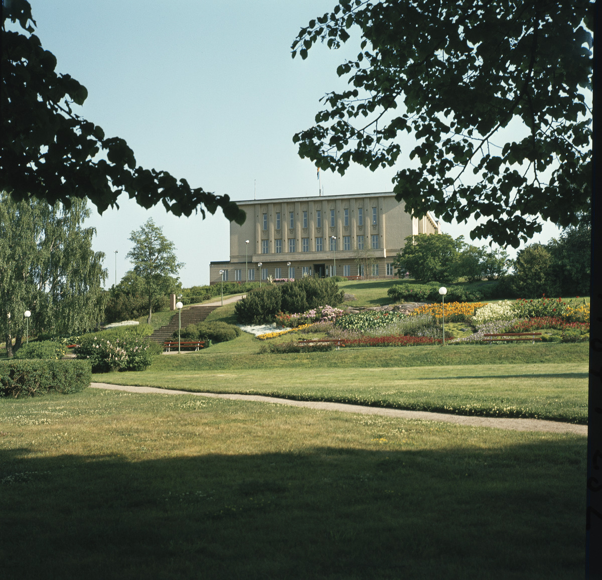 Mariehamns stadshus. Foto: Volker von Bonin. Museiverket.
