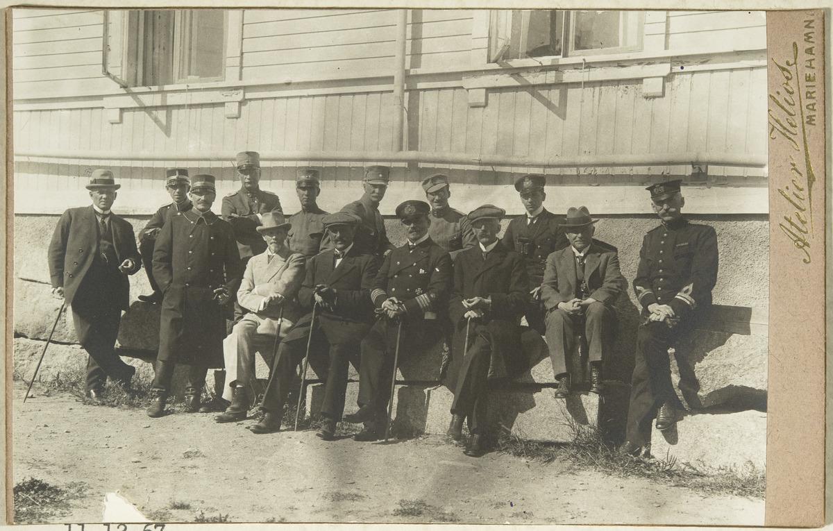 Members of an international Committee.